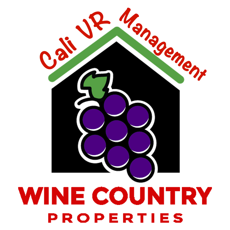 Cali VRBO Wine Country Gorgeous Vacation Rental Logo